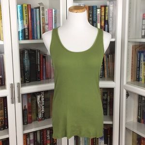 Maurices Tops - Maurices Green Racerback Tank